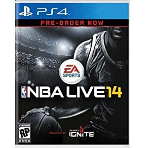 NBA Live 14 PS4 (Please see item detail in description)