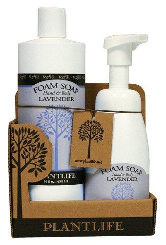 Value Set Lavender Foam Soap (Life Tree Dish Soap compare prices)