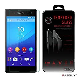 PASBUY Z5 Premium Real New 9H Tempered Glass Film Screen Protector for SONY Xperia Z5