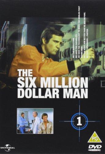 The Six Million Dollar Man -Season 1 [Region 2 Import- Non USA Format]