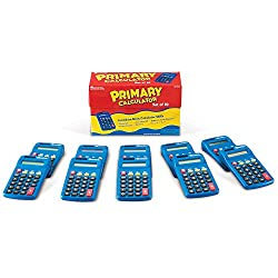 Learning Resources Calculator Primary Set of 10