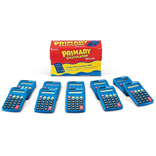 Learning Resources Primary Calculator Set of 10