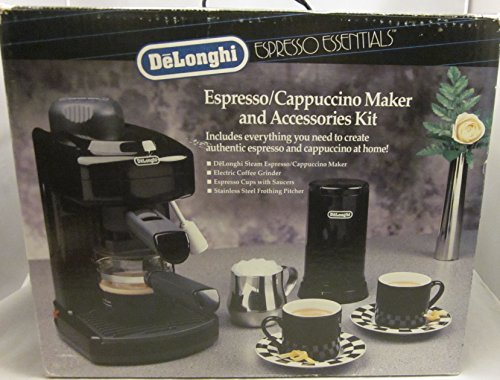 Coffee Maker Homekit : DeLonghi Espresso Cappuccino Maker and Accessories Kit BAR-4EE - Coffee Pigs