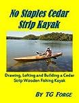 No Staples Cedar Strip Kayak: Drawing...
