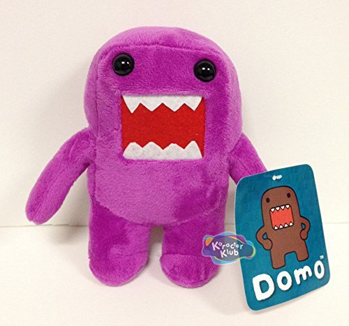 "Purple 10"" Domo Plush - 1"