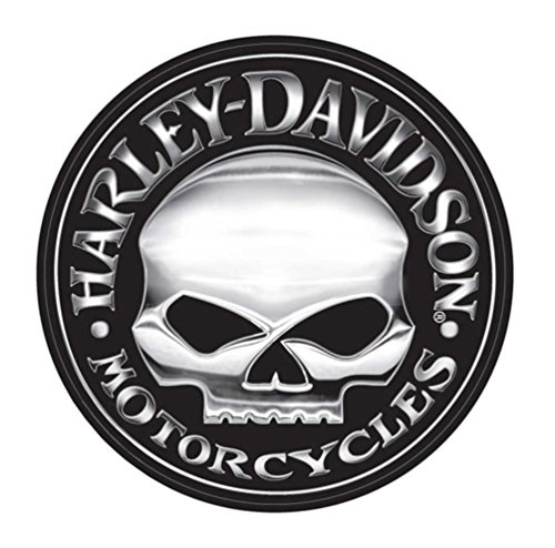 Harley-Davidson Willie G Skull Extra Large Vinyl Trailer Decal (Harley Davidson Decal Large compare prices)