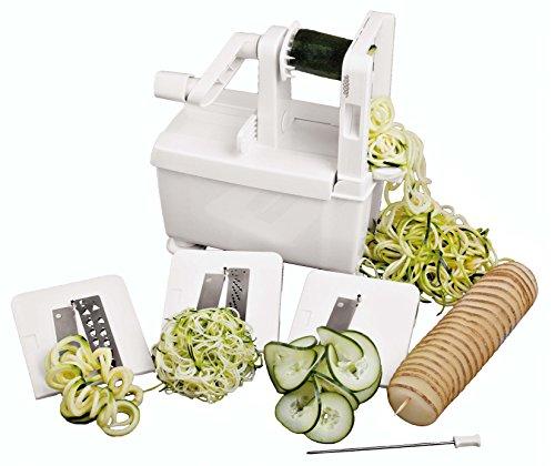Paderno spiralizer jaxslist - Paderno world cuisine spiral vegetable slicer ...