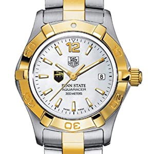 Penn State TAG Heuer Watch - Ladies Two-Tone Aquaracer Watch by TAG Heuer