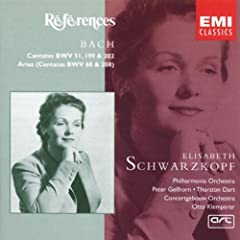 References - Bach: Cantatas and Arias - Schwarzkopf
