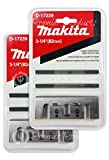 Home Improvement - Makita� 2 Pack 8 Pc - Planing Planer Blade Set - 3-1/4 Double Edge Tungsten Carbide 2-Piece Blade - For Hard Wood