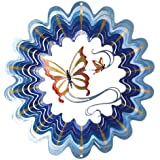 Iron Stop Designer Butterfly Wind Spinner (Discontinued by Manufacturer)