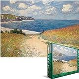 Eurographics Chemin Dans Les Bles by Claude Monet 1000-Piece Puzzle