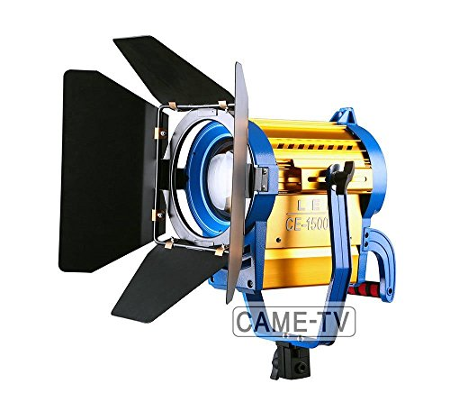 Wireless Remote + Bi-Color 1500W Led Fresnel Video Spotlight Light