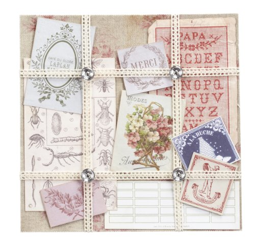 Jolee's Boutique Ephemera Paper Kit, Floral