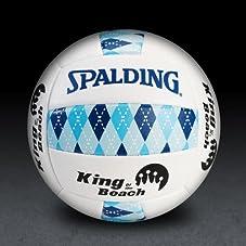 KOB Argyle Series Volleyball - Blue