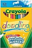 Crayola Doodling Washable Markers -12/Pkg
