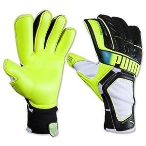 Puma Evospeed 1.2 Soccer Goalie Glove, Black, 7