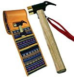 V&W 鋳造 ペグハンマー 衝撃吸収 銅 先端 収納 袋 付き