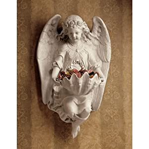 Brixton Abbey Angel Wall Sculpture (Set of 2) [Kitchen]
