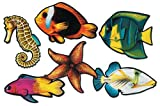 Tropical Fish Cutouts - Pack of 6