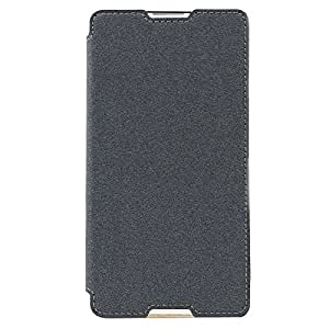Sony Xperia XA Flip Case, Original Ziaon(TM) Super Series Flip Case Stand Cover for Sony Xperia XA, Xperia XA Dual - Sparkling Black