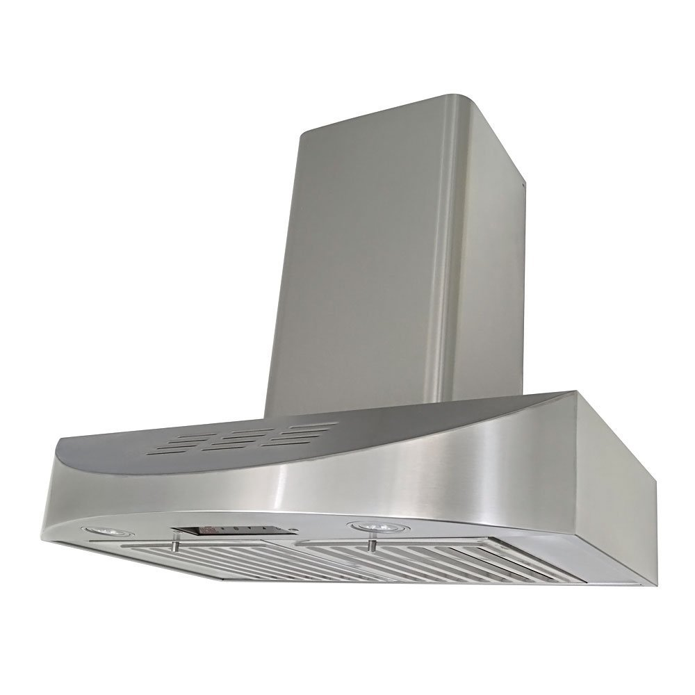 Kobe Premium CH3830SQBD-WM-1 30W in. Wall Mount Ductless Range Hood