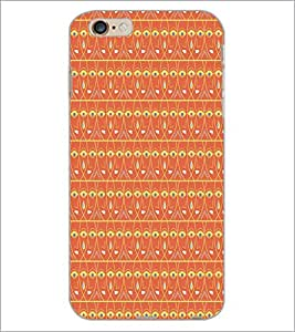 PrintDhaba Pattern D-5213 Back Case Cover for APPLE IPHONE 6 (Multi-Coloured)