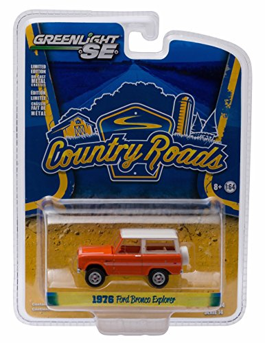 1976 FORD BRONCO EXPLORER * Country Roads Series 14 * 2016 Greenlight Collectibles 1:64 Scale Die-Cast Vehicle
