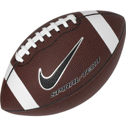 1dee84957764 composite leather coverHigh tech finish. (click photo to check price). 3. Nike  Spiral Tech 3 Pee Wee Football ...