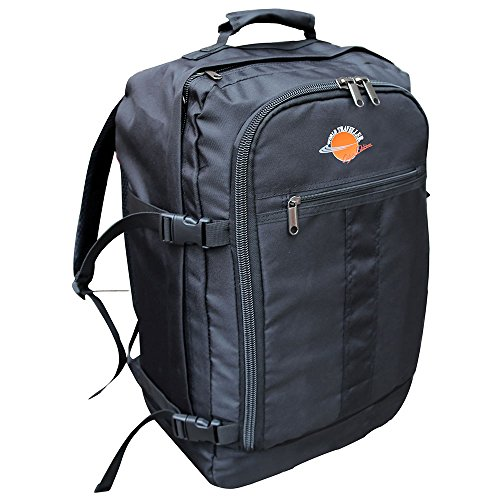 World Traveller Flight Approved Feather Light Weight Cabin Carry On Bag Backpack Hand Luggage Baggage Suitcase Perfect for Easyjet Ryanair
