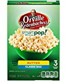 Orville Redenbacher's Pop-Up Bowl Smart Pop Butter Microwave Popcorn, 3-76.3 grams Bags (Pack of 4)