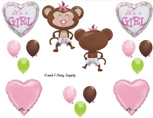 Monkey Boy Baby Shower Decorations