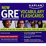 Kaplan New GRE Vocabulary Flashcards