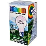Chromalux Light Bulb Frosted-100W - 1 Bulb - SPu707406