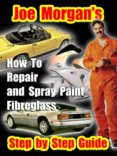 How To Repair and Spray Paint Fibreglass