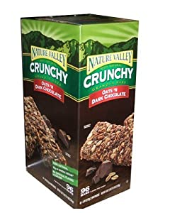 Nature Valley Crunchy Oats and Chocolate Granola Bars 96 Bar Value Box