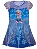 Generic Frozen Princess Elsa Child Girl Fancy Dress Costume Skirt Cosplay (M/7-8)