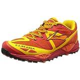 Brooks Men's Cascadia 9 Trail Running Shoes, Color: HghRskRed/Orangeade/LemonChrme, Size: 11.5 ~ Brooks