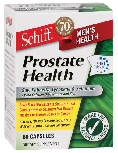 Schiff Prostate Health - 60 Capsules