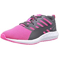 PUMA Womens Flare Mesh Running Shoes (Quarry or Pink Glo)