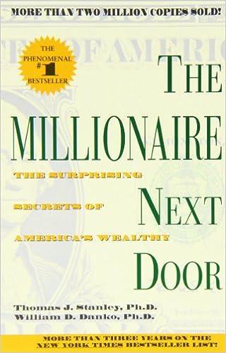 The Millionaire Next Door: The Surprising Secrets of America's Wealthy price comparison at Flipkart, Amazon, Crossword, Uread, Bookadda, Landmark, Homeshop18