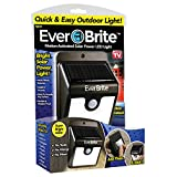 Ever Brite BRITE-MC12/4 Ever Brite Motion Activated LED Solar Light, Black