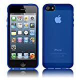 Cbus Wireless Blue Flex-Gel Case / Skin / Cover for Apple iPhone 5 5G
