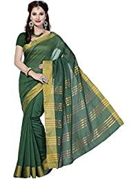 Rani Saahiba Art Cotton Silk Saree (Green_SKR1064)