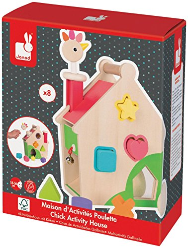 2016 Hot Toy List: Rated Kid-Tested and Parent-Approved (Parents Magazine / Amazon) Janod Zigolos Hen Activities House Baby Toy