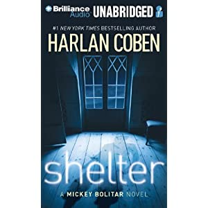Shelter: A Mickey Bolitar Novel Audiobook