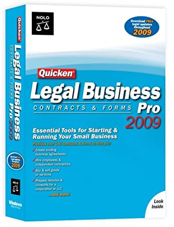 Quicken Legal Business Pro 2009 [Old Version]