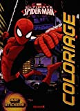 Marvel Ultimate Spider-Man - Coloriage avec stickers (Fond ville)...