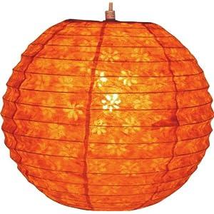 Papierlampe corona round 30 cm reispapierlampenschirm - Papierlampe rund ...