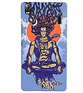 Citydreamz Lord Shiv/Spiritual/Gods/Trishul Hard Polycarbonate Designer Back Case Cover For Lenovo K3 Note